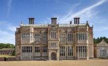 The south front of the Hall at Felbrigg Hall, Gardens and Estate, Norfolk.